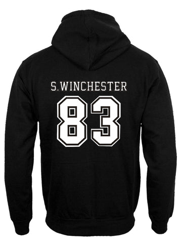 Supernatural Shirt Winchester 83 Hoodie back