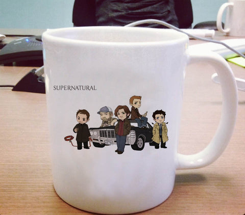 Supernatural cartoon Ceramic Mug