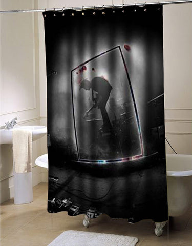 The 1975 band shower curtain customized design for home decor