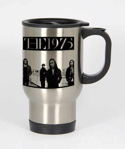 The 1975 band Travel mug