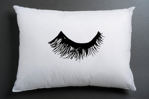 The Lashes left Pillow case