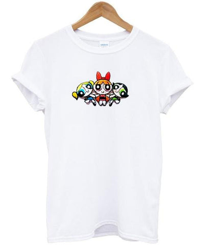 The Powerpuff Girls Action T Shirt