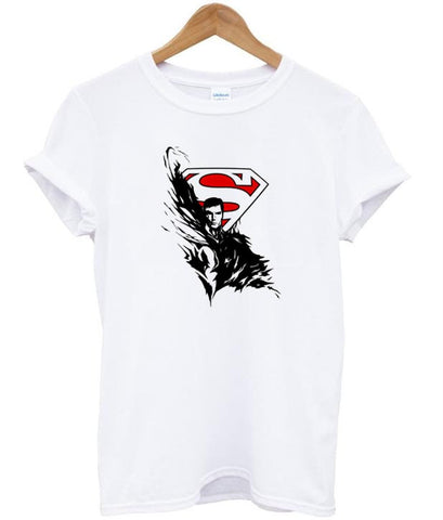 Tribal Rose And Superman Logo tshirt