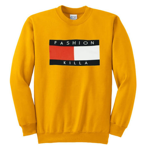 Trillfiger fashion killa sweatshirt