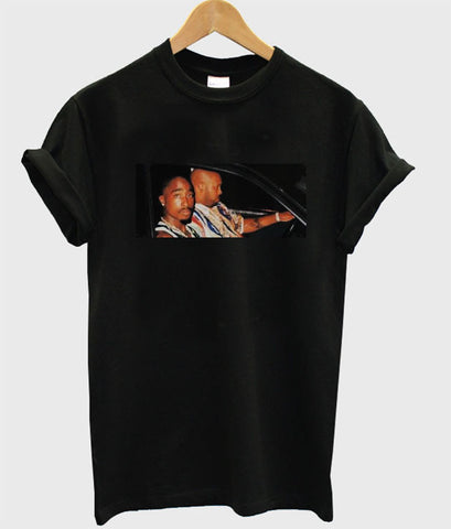 Tupac and suge knight tshirt
