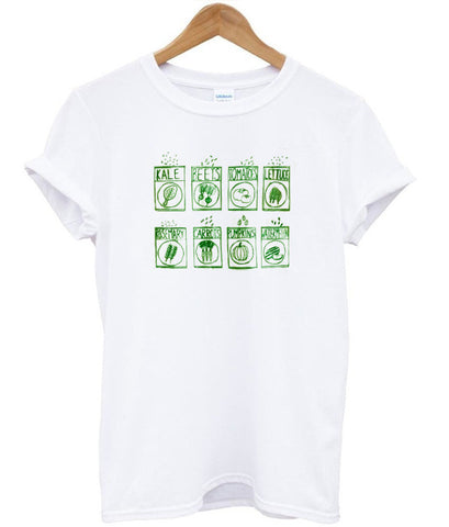 Vegetable tshirt
