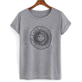WE LIVE BY THE SUN WE FEEL BY THE MOON tshirt