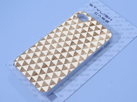Wood White Geometric Forms Phone case iPhone case Samsung Galaxy Case