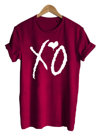 XO The Weeknd T shirt