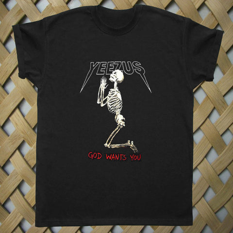 Yeezus God Wants You Kanye T shirt