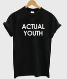 actual youth T shirt