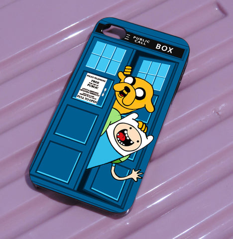 adventure time public police box s4 of iPhone case,Samsung Galaxy