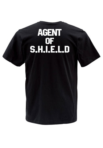 agent of shield back T shirt