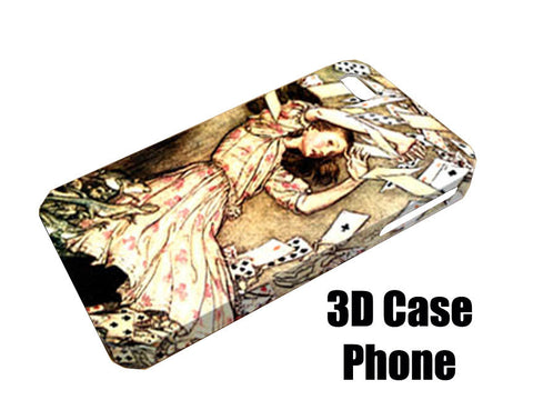 alice in wonderland fear Design 3D Case Phone case iPhone case Samsung Galaxy Case