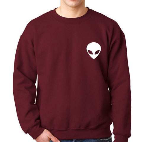 alien pocket sweatshirt