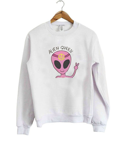 alien queen sweatshirt