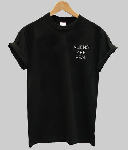 aliens are T shirt