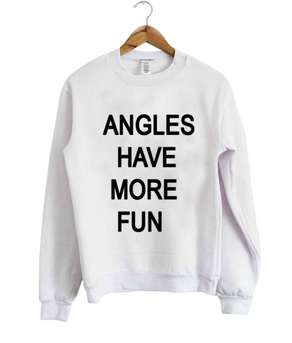 angles have more sweatshirt