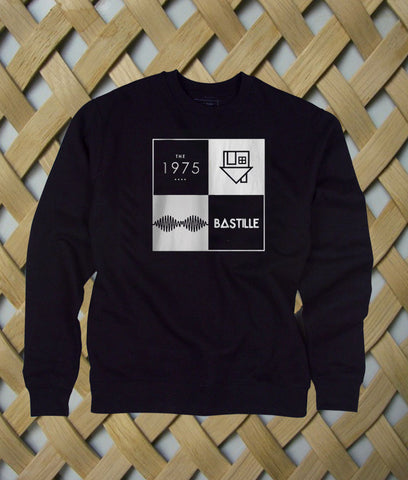 arctic monkeys the 1975 bastille sweatshirt