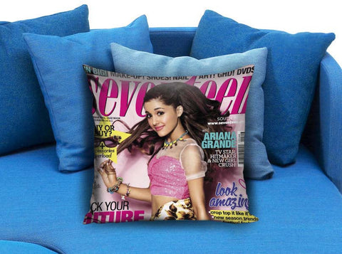 ariana grande cover Pillow case