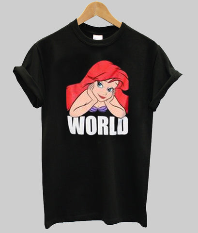 ariel world T shirt