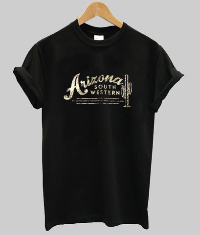 arizona south western tshirt