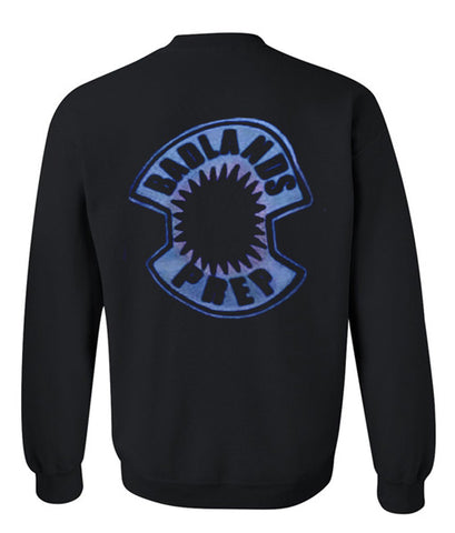 badlands prep sweatshirt back