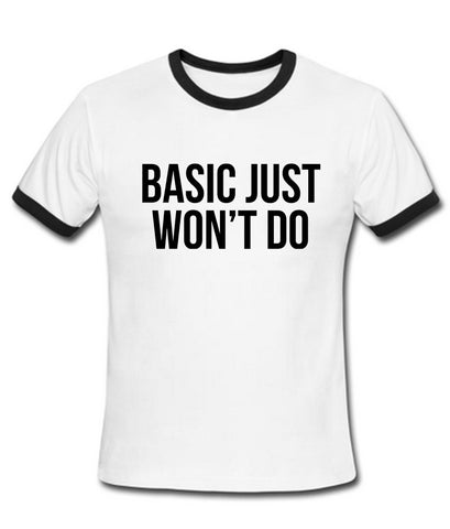 basic just T shirt