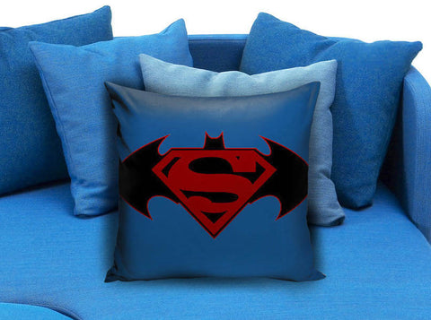 batman vs superman hot logo Pillow case