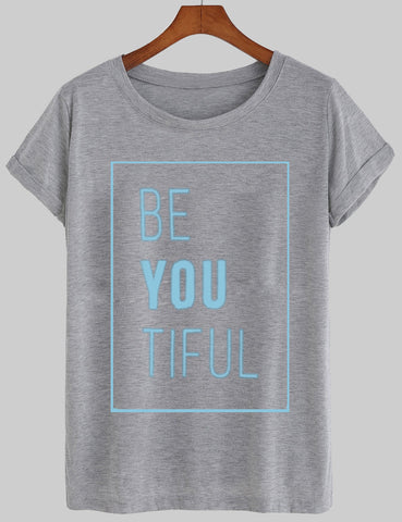 beyoutiful T shirt