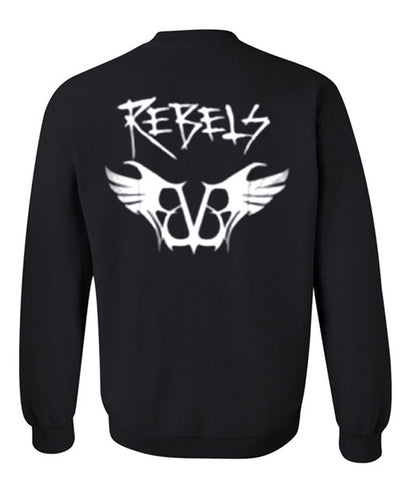 black veil brides rebels sweatshirt back