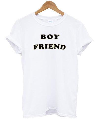boy friend tshirt