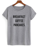 breakfast coffee T shirt