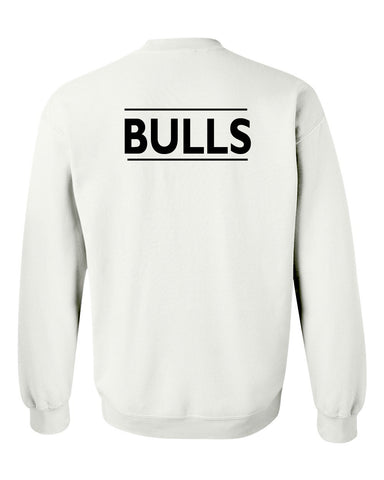 bulls sweatshirt back