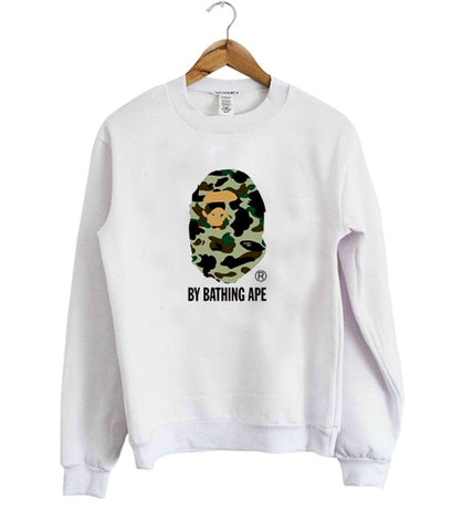 by bathing ape sweatshirt