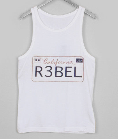 california rebel tanktop
