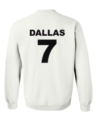 cameron dallas 7 sweatshirt back