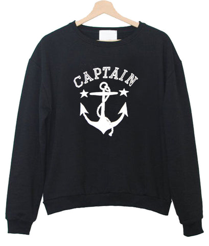 captain anchor sweatshirt