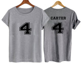 carter 4 T shirt TWO SIDE