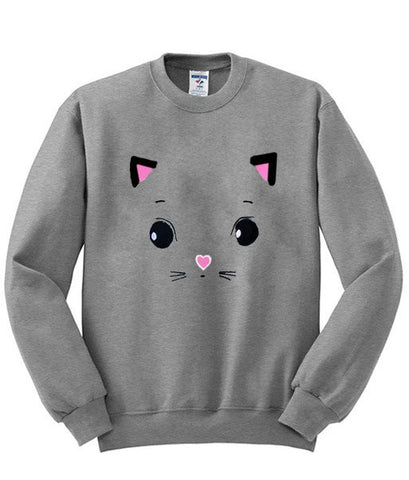 cat sweatshirt
