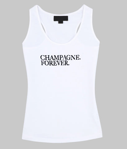 champagne forever tanktop