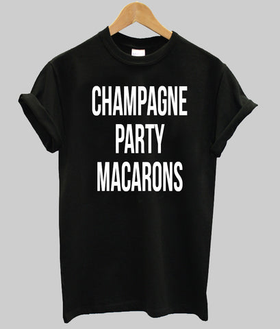 champagne party macarons T shirt