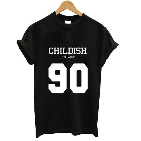 childish 90 tshirt