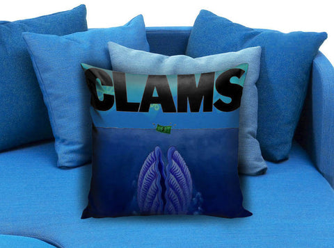 clams jaws parody sponge bob Pillow case