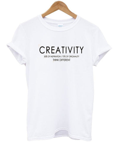 creativity tshirt