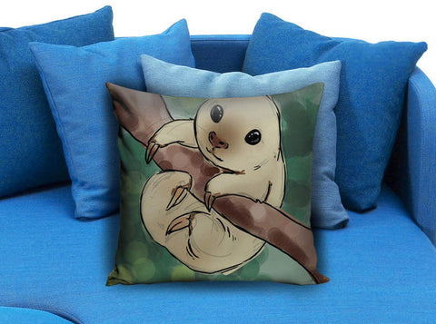 cute baby sloth Pillow case