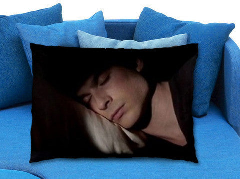 damon salvatore pillow case