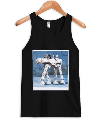 darth vader at at-at walker Tank Top
