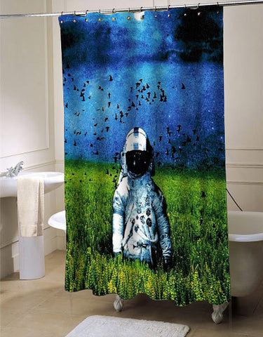 deja entendu shower curtain customized design for home decor