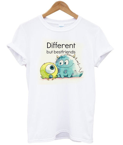different but best friends T shirt